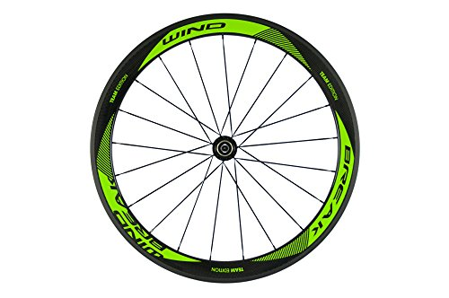 Sunrise Bike Carbon Fiber Road Wheelset Clincher Wheels 50mm Depth R13 Hub Decal Bicycle Rims by SunRise (Image #3)