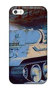 Excellent Design Tank Phone Case For Iphone 5/5s Premium Tpu Case