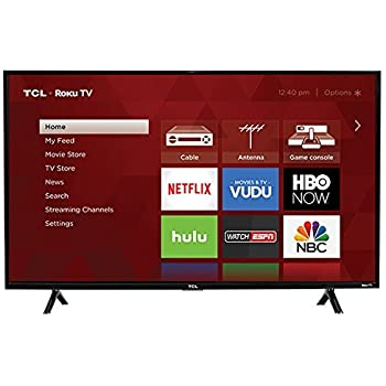"TCL 43S303 43"" LED 1080P 120HZ WiFi Roku TV (Certified Refurbished)"