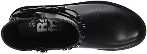 Bottines Refresh black Black 063838 Noir Femme YqRaw