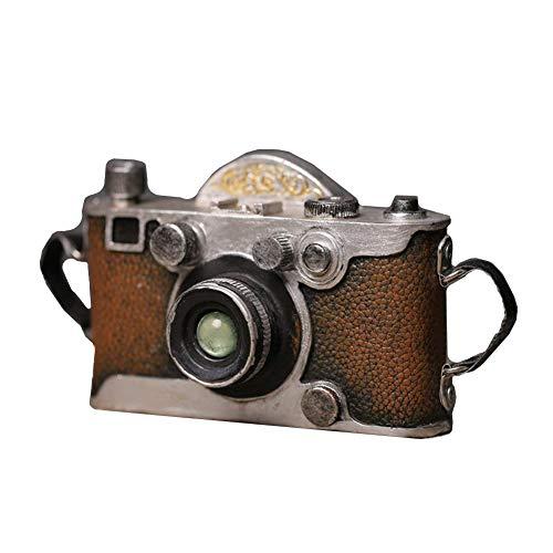 YOURNELO Creative American Style Old Retro Vintage Photographic Camera Model Resin Sculpture Home Decoration Desk Ornaments -