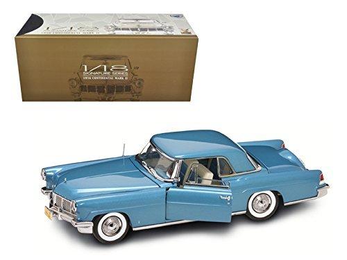Price comparison product image Road Signature 20078 1956 Lincoln Continental Mark 2 Blue 1 / 18 Diecast Model Car