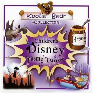 Disney Theme Tunes by Kootie Bear Childrens Range