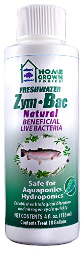 HOME GROWN PONICS   Zym Bac # 96044 Natural Beneficial Bacteria, 4 oz. by HomeGrown Ponics