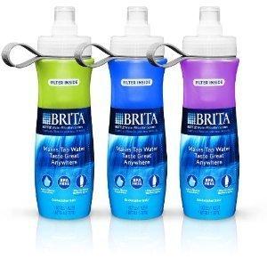 Brita Sport Water Filter Bottle, 3/Pack, 20 Ounce