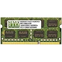 16GB DDR3-1600MHz PC3-12800 SODIMM for Apple iMac 27 Late 2015 Intel Core i5 Quad-Core 3.2GHz MK472LL/A CTO (iMac17,1 Retina 5K Display)