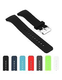 StrapsCo Silicone Watch Band Strap for Samsung Gear S2 R720