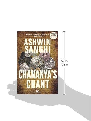 Amazon com: Chanakya's Chant (9789381626818): Ashwin Sanghi