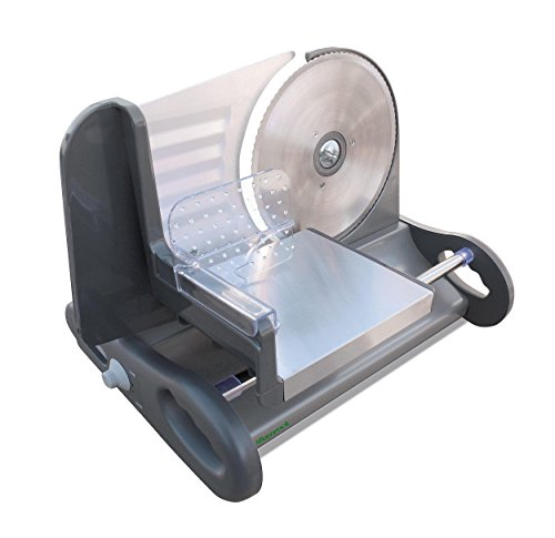 Shamrock Stainless Steel Food Slicer with Speed Control, X-Large