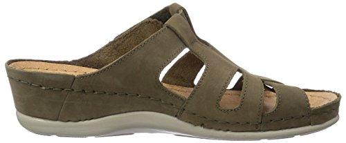Claquettes 700736 Brinkmann Dr de Vert Chaussures Olive Vert Femme w5I6ddvq