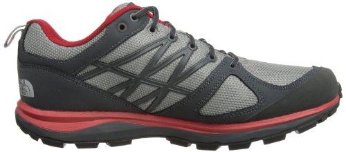 The North Face  Litewave GTX,  Herren Trekking- und Wanderschuhe griffin grey/tnf red