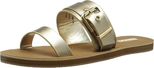 Aldo Women's Eleanna Dress Sandal, Gold, 39 EU/8.5 B US