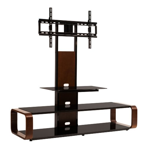 transdeco td655db multi function 3 in 1 tv stand with universal mounting system for 35 to 80. Black Bedroom Furniture Sets. Home Design Ideas