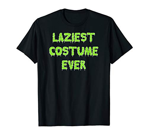 Laziest Halloween Costumes (Funny Halloween Laziest Costume Ever Outfit Shirt Kids)