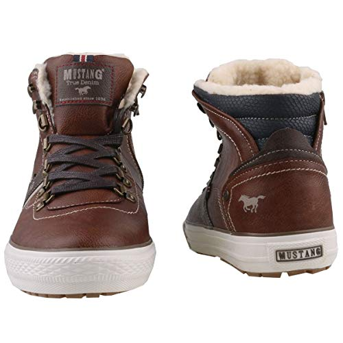 High Herren Sneaker Kastanie Top Braun Hohe Mustang 301 q8wxBpd5