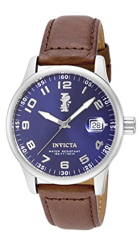 Invicta Men's 15254 I-Force Stainless Steel Watch With Brown Leather Band - Mens Force Brown Leather