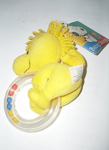 Peanuts Baby Snoopy Best Friend BABY WOODSTOCK Rattle Ring by Baby Snoopy