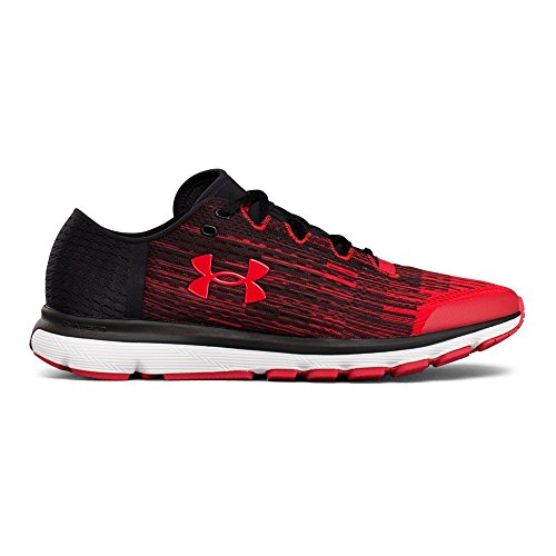 Under Armour Men's Speedform Velociti Graphic Running Shoe Red (600)/Black 10.5