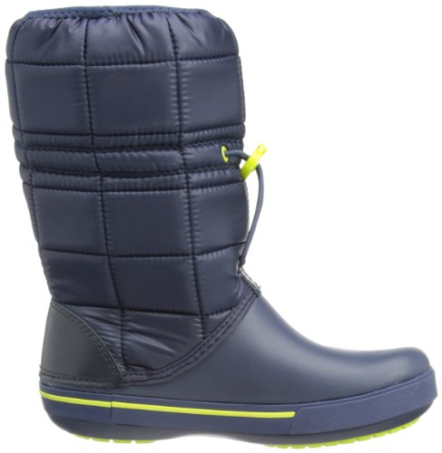 Crocs Womens Crocband Ii.5 Winter Boot Navy / Green Apple