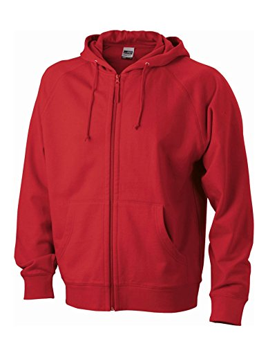 Red Hooded Giacca Classica Cappuccio Con Jacket qzH7HXwt