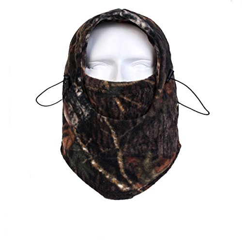14 Headgear (YASHALY Camo Tactical Army Thermal Fleece Balaclava Full Face Mask Warm Winter headgear Motorcycle Neck Hoods Cover Hat Cap (Free Size, RZ-14))