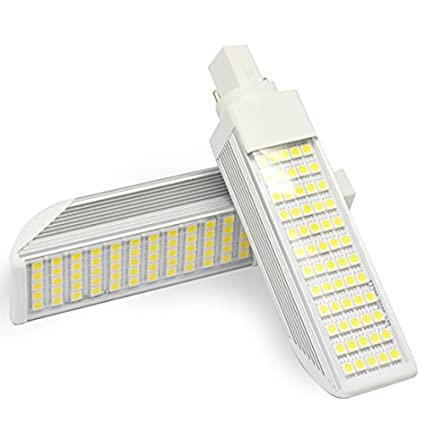 Bombilla LED G24 10W 85-265V Color Blanco Frío Deluxe 4500k: Amazon.es: Iluminación