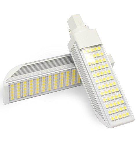 Bombilla LED G24 10W 85-265V Color Luz del Día 6500k: Amazon.es: Iluminación