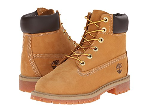 Timberland 6'' Premium Waterproof Boot (Toddler/Little Kid/Big Kid) (5 M US BIG KID, Original Wheat) by Timberland