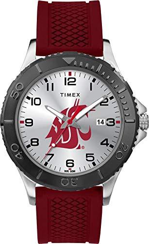 (Timex Men's Washington State University Gamer Watch Silicone Watch)