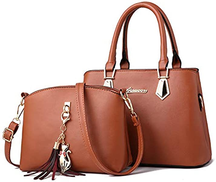 90980e9cfbd65 YINGPEI Women Bag Vintage Casual Tote Fashion Women Messenger Bags Top-Handle  Shoulder Handbag Purse Wallet Leather New Color Yellow. Back. Double-tap ...