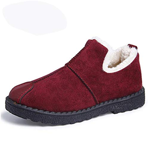 Stivali Da Qbsoe Di Inverno Caldi Neve Scarpe Red Caldo Invernali Cotone Donna qwwFxB5R