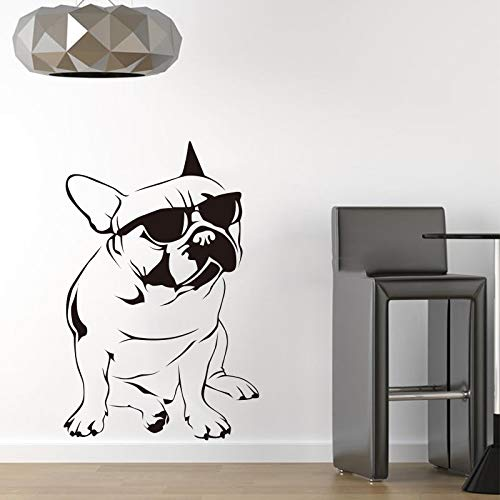 XIAOJIE0104 Perro Divertido Gafas de Sol Bulldog Francés Etiqueta ...