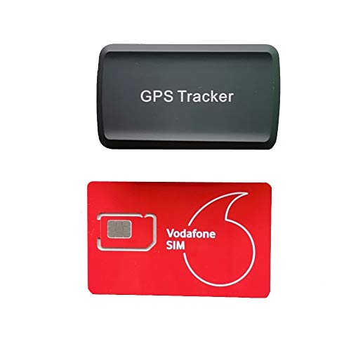 Mini gps tracker with Powerful Magnet Long Standby GPS Tracker Locator for Kids Seniors Pets Cars LM002,With Free…