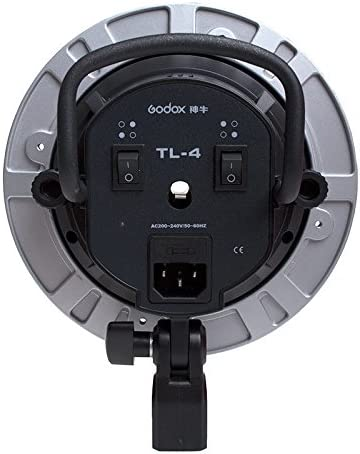 Godox Tl-4 Tricolor Ac Slave Bulb E27 Socket Holder Speed Ring with Five Hole for Photography Lighting