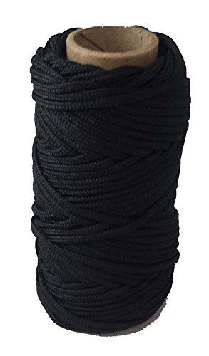 Oil Decoy (T.W . Evans Cordage Co. 12-636-200 #36 200' Black and Tarred Braided Nylon Decoy Line)