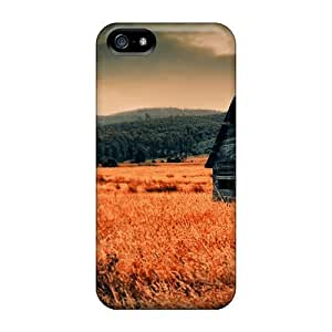 Waterdrop Snap-on Lonely Countryside Case For Iphone 5/5s