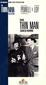 The Thin Man Goes Home [VHS]