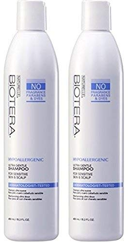 Naturelle Hypo-Allergenic Fragrance Free Shampoo 15 oz (2 PACK)