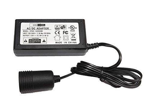 Price comparison product image OMNIHIL (10FT) 12V Power Adapter Converter & Cigarette Car Lighter