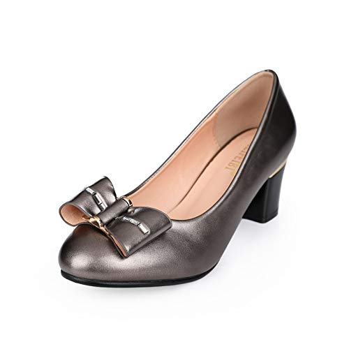 Small Gun heels With High Wild Pu Yukun With Color Shoes Autumn Heel Autumn Shoes High Shoes Shoes Women'S Black Female Single Thick 6Rxfw54fzq