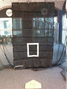 Protech Batting Cage Net Heavy Duty Backstop Net Saver, 5' X 8' by Protech