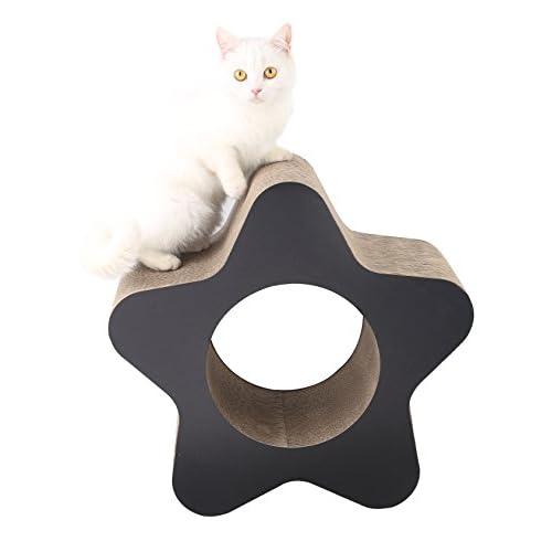 cat scratcher lounge. 60%OFF MushroomCat Ultimate Cat Scratcher Lounge Unique Design Toy (CAT STAR)