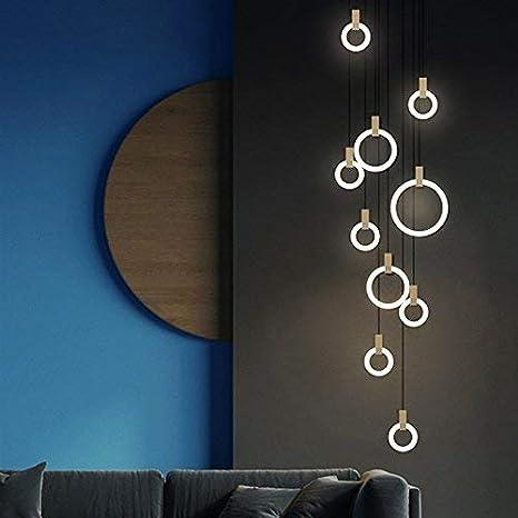 LED Lámpara Colgante de Techo 142W Iluminación Interior ...