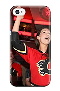 6313444K852099669 calgary flames (36) NHL Sports & Colleges fashionable iPhone 4/4s cases