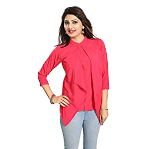 ALC Creation Women's Faux Crepe Top