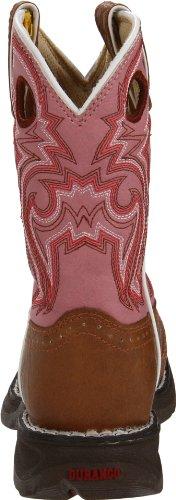Durango Kids BT287 Lil' 8 Inch Saddle,Tan/Pink,11.5 M US Little Kid by Durango (Image #2)