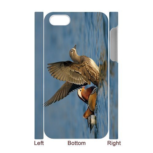 SYYCH Phone case Of Love Birds -Mandarin Duck Cover Case For Iphone 4/4s