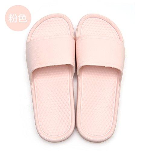 39 el femenino del ligero hogar zapatillas en Rosa de nbsp;Zapatillas baño el suelo verano olor fresco género cuarto Fankou de verano de 40 7qA6wWRC