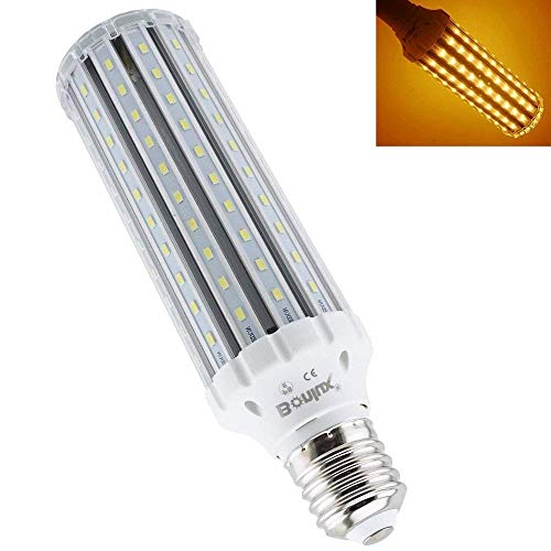 ul Base Corn LED Light Bulb, 50W(400W Halogen Equivalent), 4500lm E40 LED Retrofit Bulb for Replacement of HID, HPS, CFL, Incandescent, Metal Halide Lighting - Warm White 3000K ()