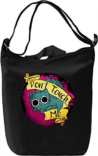 Don't Touch Me Borsa Giornaliera Canvas Canvas Day Bag| 100% Premium Cotton Canvas| DTG Printing|